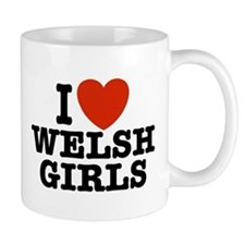 I Love Welsh Girls Mug