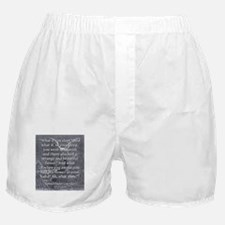 What If You Slept - Coleridge Boxer Shorts