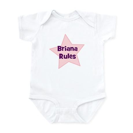 Briana Rules Infant Bodysuit
