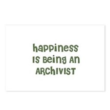 Happiness Is Being An ARCHIVI Postcards (Package o