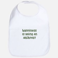 Happiness Is Being An ARCHIVI Bib