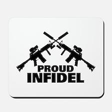 Proud Infidel Mousepad