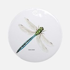 Green Darner Insect Ornament (Round)