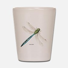 Green Darner Insect Shot Glass