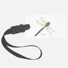 Green Darner Insect Luggage Tag
