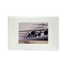 Line of US Air Force a Rectangle Magnet (100 pack)