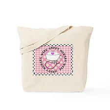 happy nurses week card pink Tote Bag