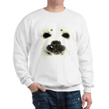 harp seal 1 Sweatshirt