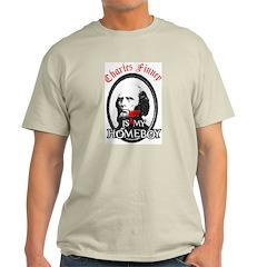 Not Finney Ash Grey T-Shirt