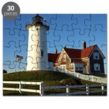 Nobska Lighthouse, Woods Hole, Falmouth, Ca Puzzle