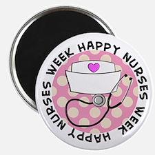 """HAPPY NURSES WEEK 3 2.25"""" Magnet (100 pack)"""