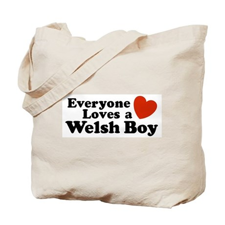 Everyone Loves a Welsh Boy Tote Bag