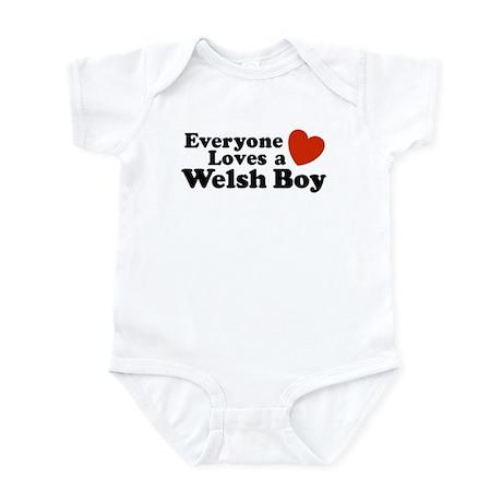 Everyone Loves a Welsh Boy Infant Bodysuit