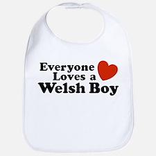 Everyone Loves a Welsh Boy Bib