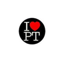 I Heart PT - Mini Button (10 pack)