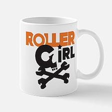 Rollergirl Skull Logo Mug