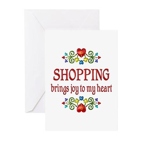 Shopping Joy Greeting Cards (Pk of 10)