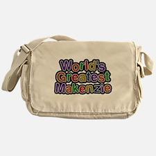 Worlds Greatest Makenzie Messenger Bag