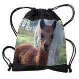 Llama Drawstring Bag