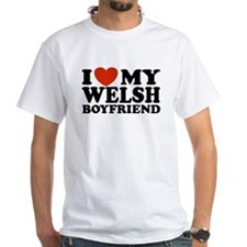 I Love My Welsh Boyfriend Shirt