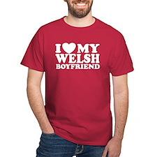I Love My Welsh Boyfriend T-Shirt