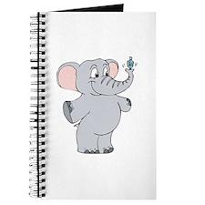 Elephant with Dreidel Journal