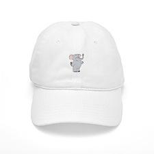 Elephant with Dreidel Baseball Cap