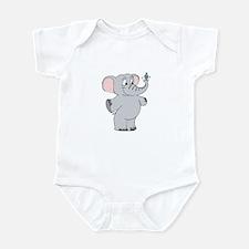 Elephant with Dreidel Infant Bodysuit