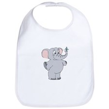 Elephant with Dreidel Bib