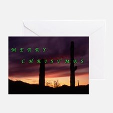 Sunset, South Mountain, Phoenix Holiday Cards