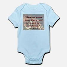 There Is No Greater Sorrow - Dante Infant Bodysuit