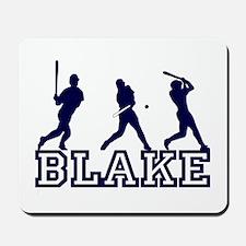 Baseball Blake Personalized Mousepad