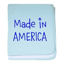 Made in AMERICA baby blanket