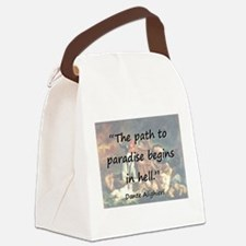 The Path To Paradise - Dante Canvas Lunch Bag