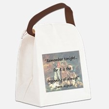 Remember Tonight - Dante Canvas Lunch Bag