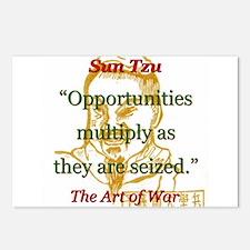 Opportunities Multiply - Sun Tzu Postcards (Packag
