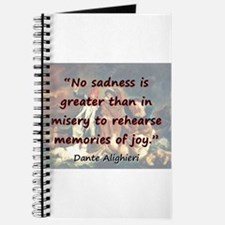 No Sadness Is Greater - Dante Journal