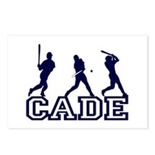 Baseball Cade Personalized Postcards (Package of 8