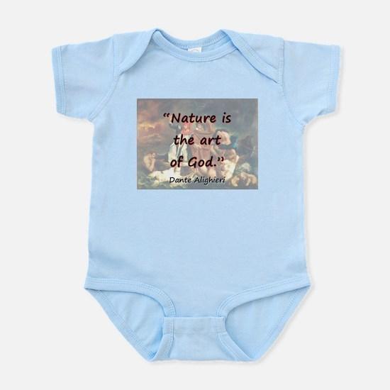 Nature Is The Art Of God - Dante Infant Bodysuit
