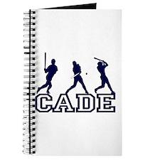 Baseball Cade Personalized Journal