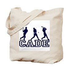 Baseball Cade Personalized Tote Bag