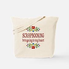 Scrapbooking Joy Tote Bag