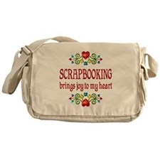 Scrapbooking Joy Messenger Bag