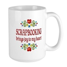 Scrapbooking Joy Mug