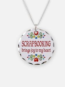 Scrapbooking Joy Necklace