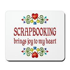 Scrapbooking Joy Mousepad