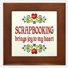 Scrapbooking Joy Framed Tile