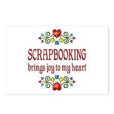 Scrapbooking Joy Postcards (Package of 8)