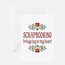 Scrapbooking Joy Greeting Card