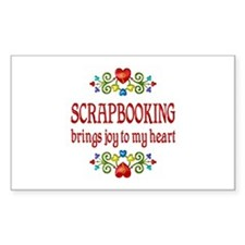 Scrapbooking Joy Bumper Stickers